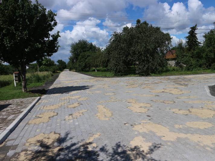 Відремонтована вулиця