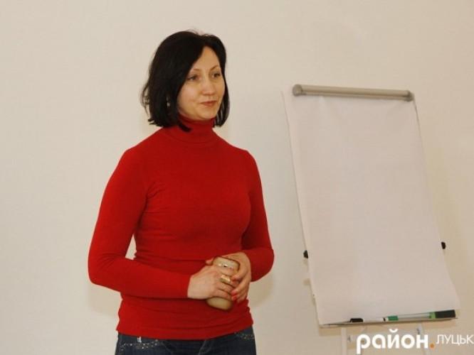 Спікерка вебінару Інна Кондратюк
