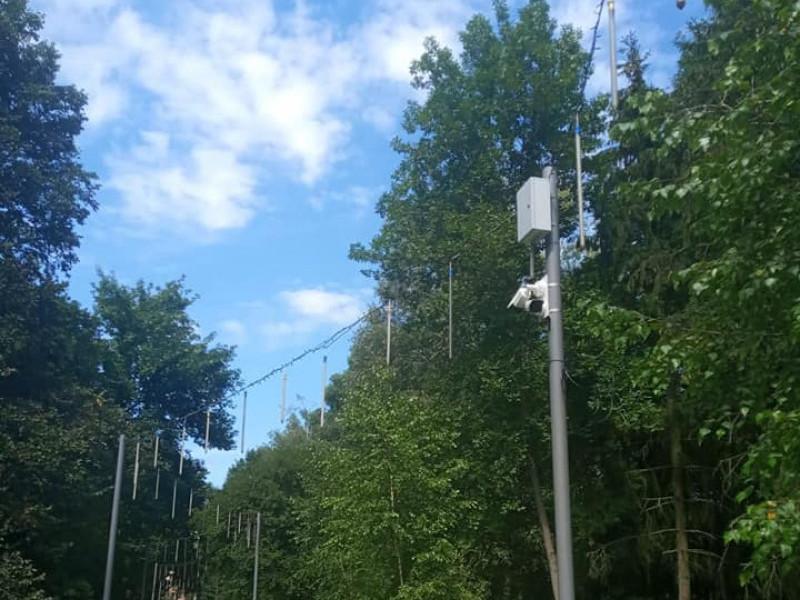 Почали тестувати камери спостереження у Центральному парку