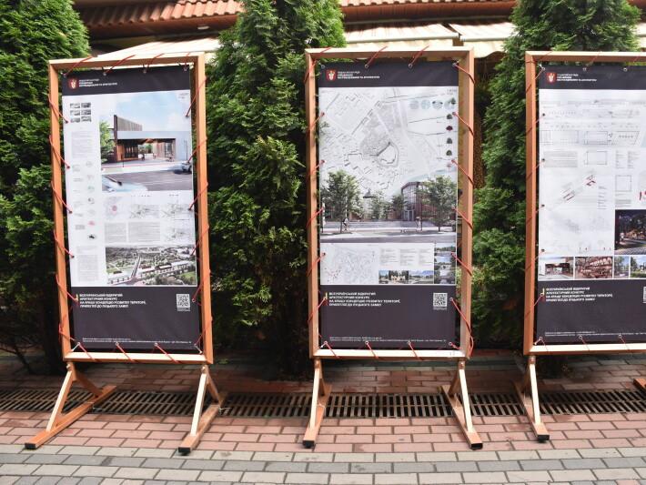 У центрі міста лучани зможуть оцінити ідеї розвитку території біля Замку Любарта