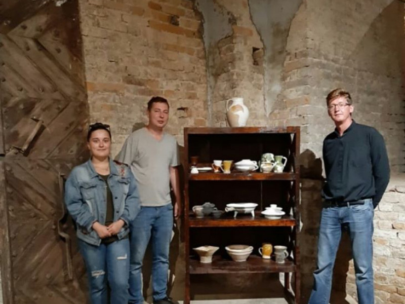 У луцьких підземеллях покажуть старовинний посуд