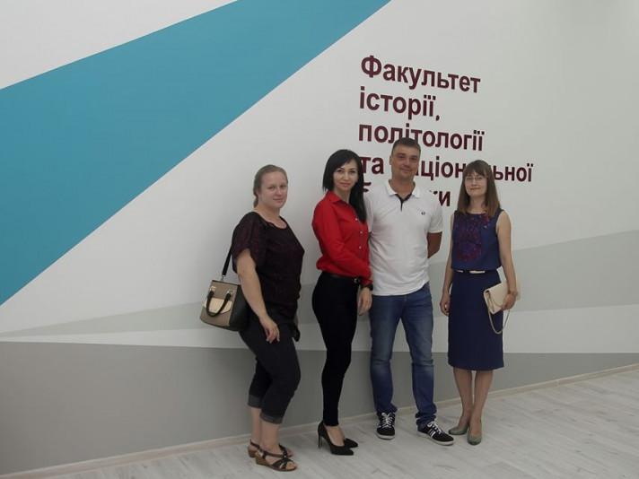 На історичному факультеті СНУ у Луцьку– дизайнерський оновлений хол