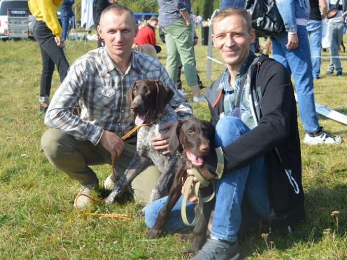 Виставка собак у Луцьку