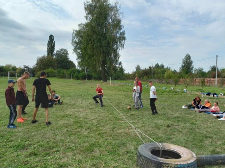 Спортивний тиждень у Мстишинській школі