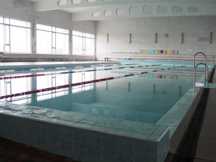 Оновлений басейн Луцького національного технічного університету