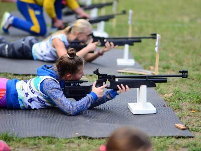 Спортсмени з Боратинської ОТГ виступили на Всеукраїнських змаганнях з літнього біатлону