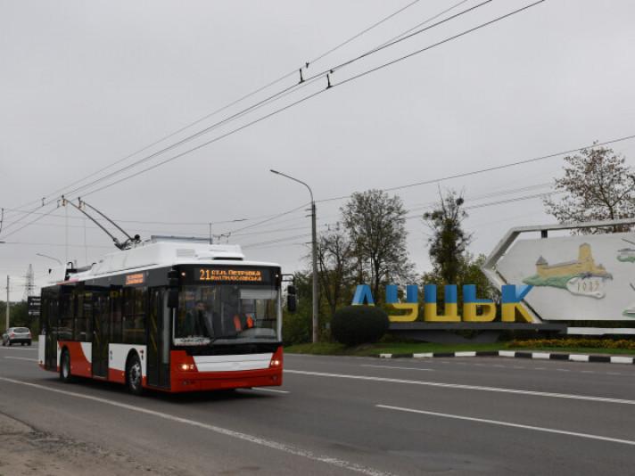 Новий тролейбус