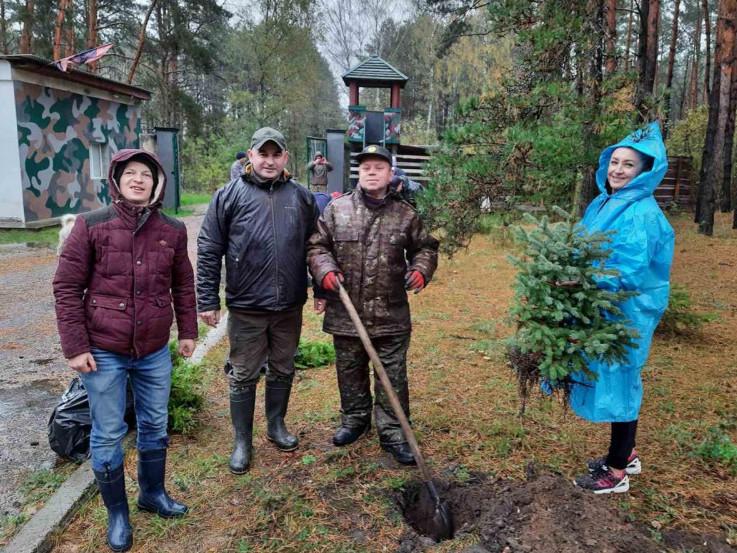 Волинь доєдналась до Всеукраїнської акції «Озеленення України»