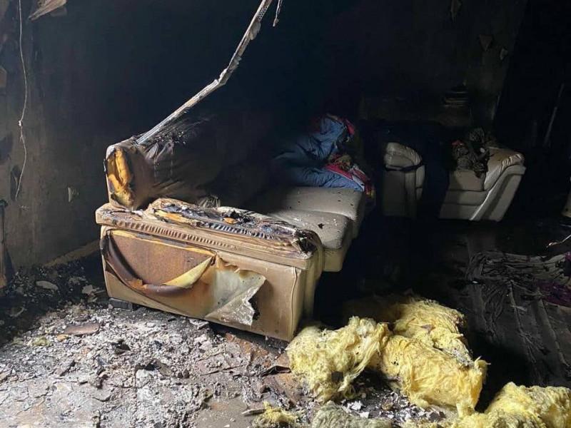 Пожежа суттєво понищила помешкання