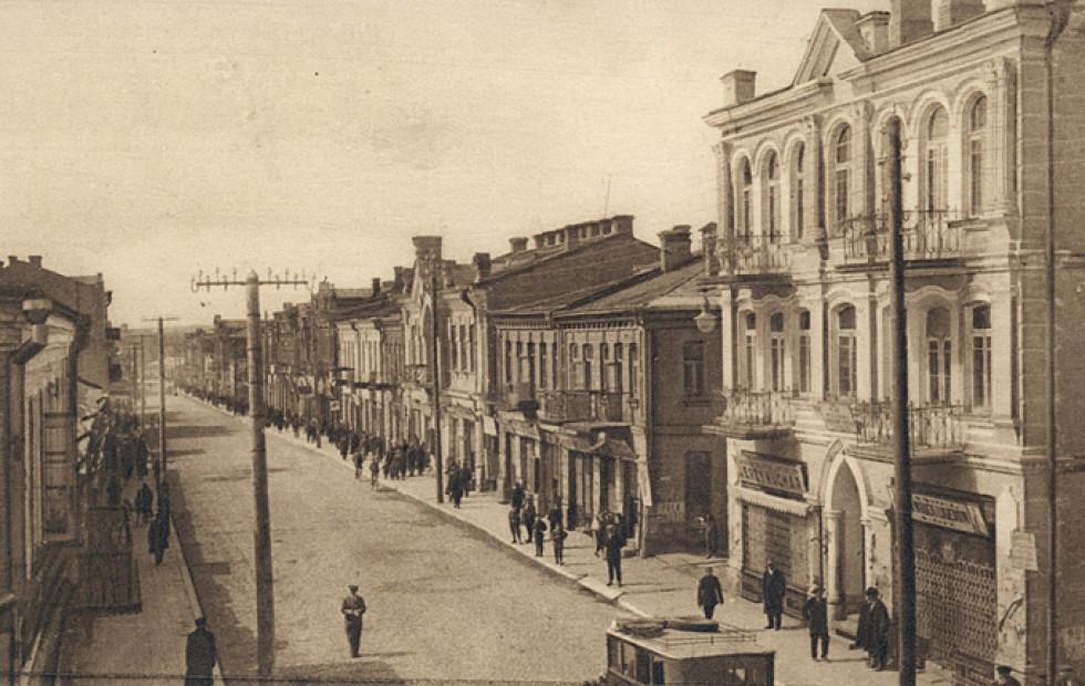 Ягеллонська – головна вулиця Луцька перед війною