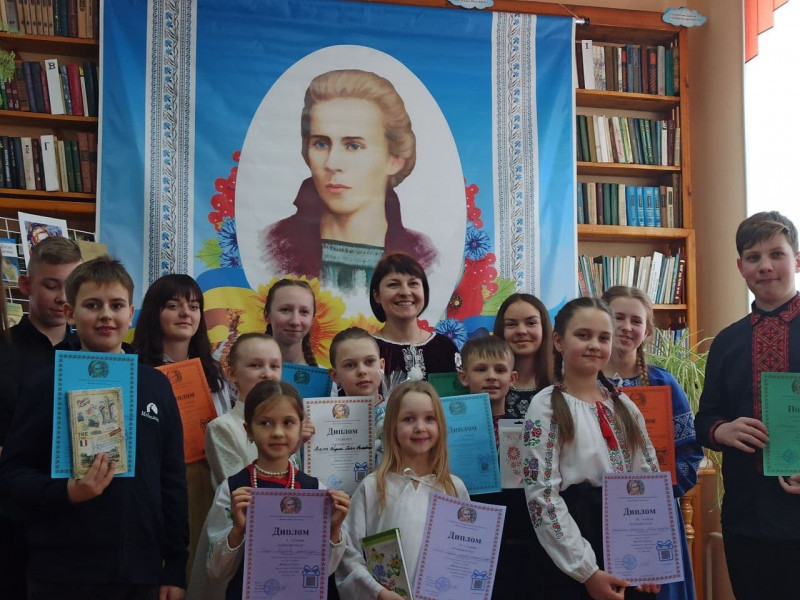 У Княгининівській громаді змагалися читці поезії Лесі Українки