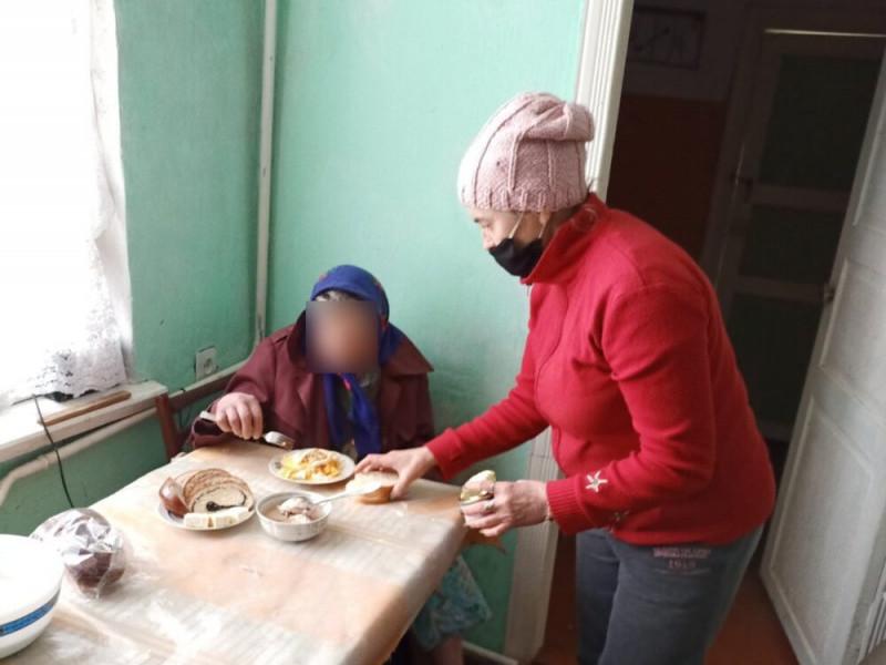 У Боратинській громаді під час сильних снігопадів за одинокими людьми старшого віку доглядала соцслужба