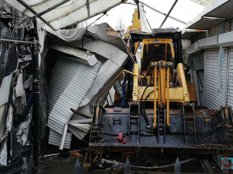 Демонтаж Центрального ринку