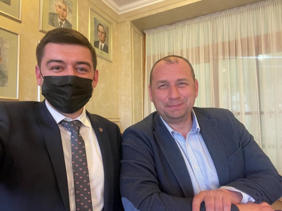 Едгар Токар та Федір Шандор