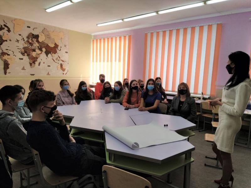Баївських школярів навчали фінансовій грамотності