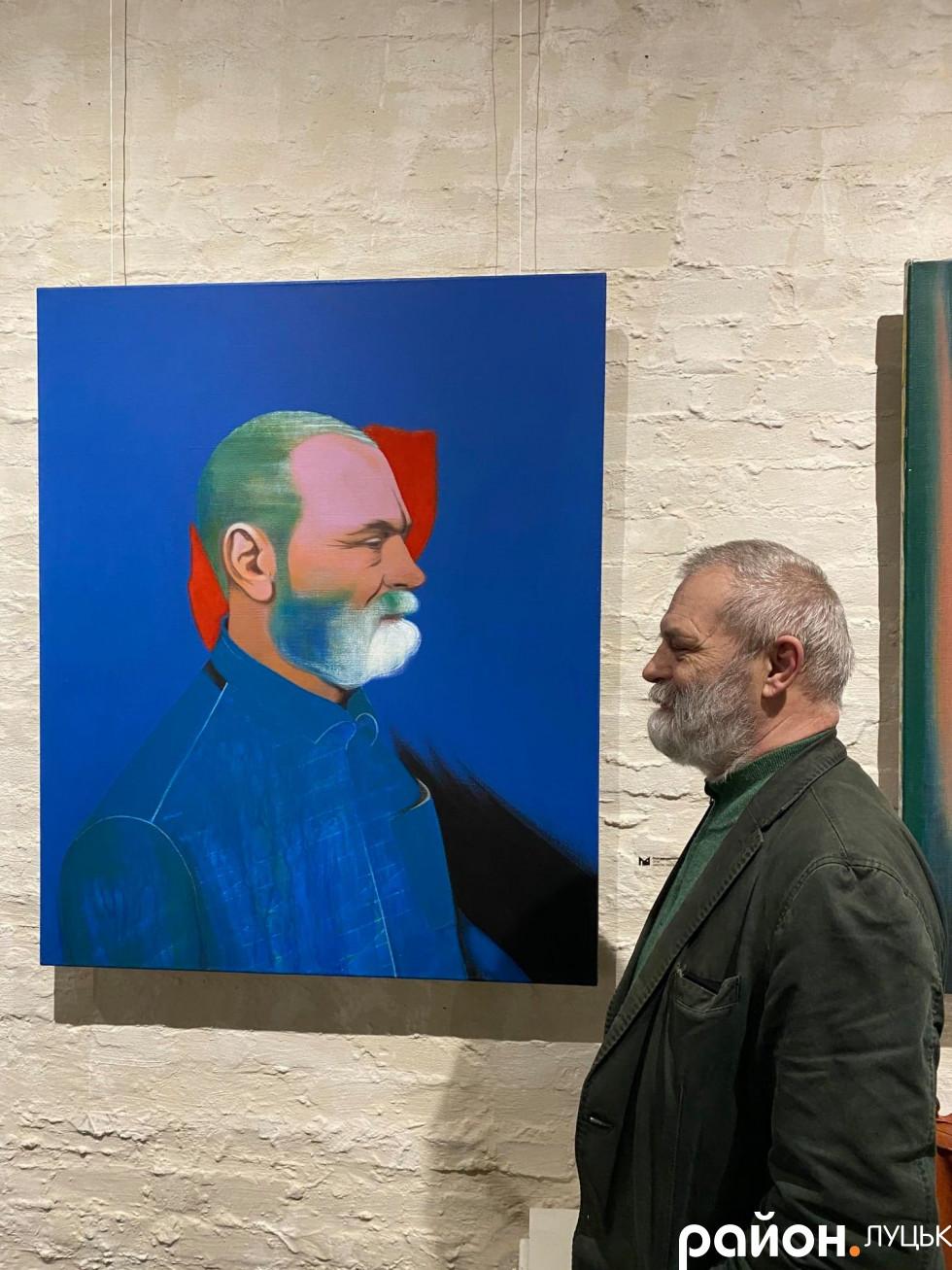 Олександр Дяченкоі його портрет