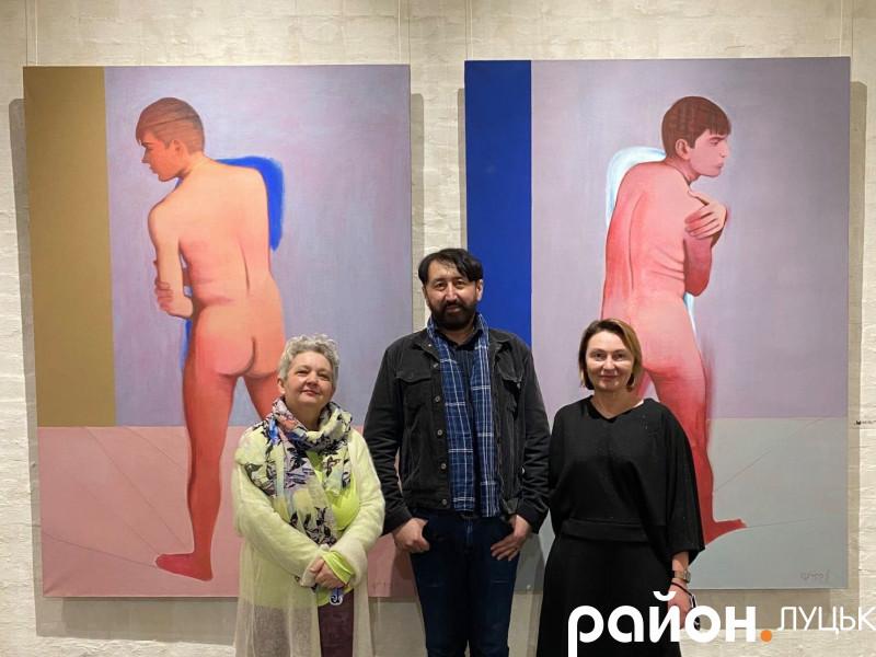 Діана Клочко, Борис Фірцак та Леся Корсак