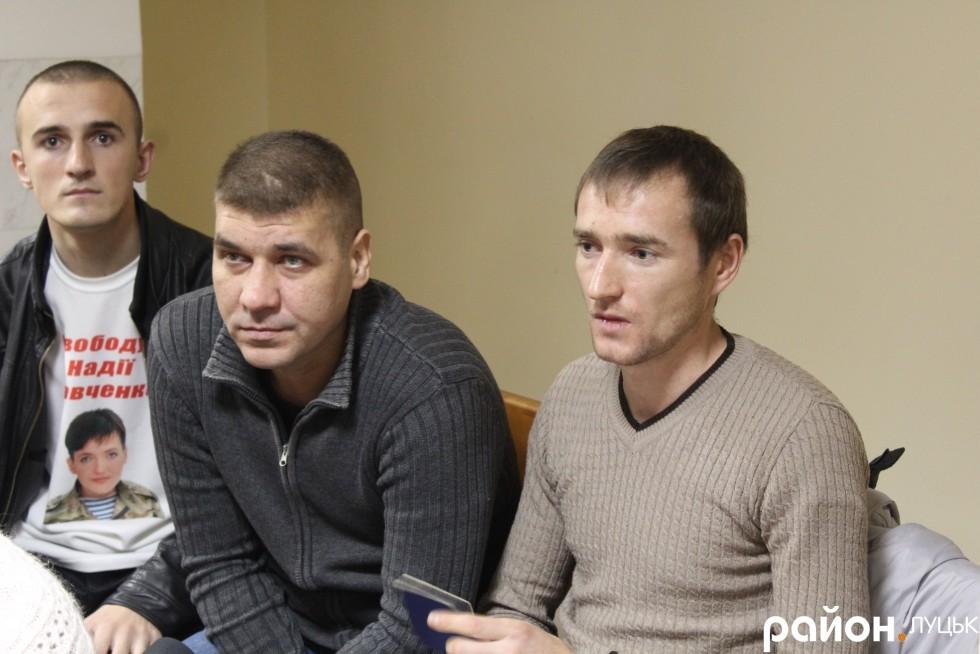 Віктора Котика підтримували також друзі