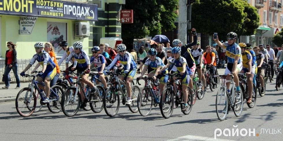 Велосипедисти повернулись щасливі зі своєї подорожі