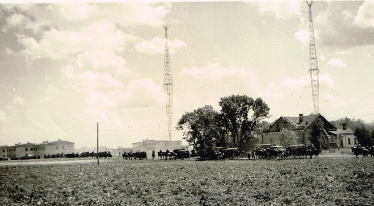 Вежі радіостанції під час війни
