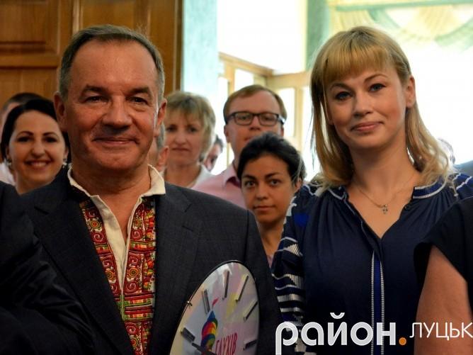 Мішель Терещенко (зліва)