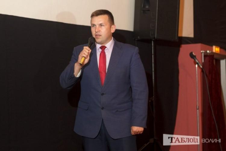 ...заступник голови Волинської обласної державної адміністрації Сергій Кошарук...