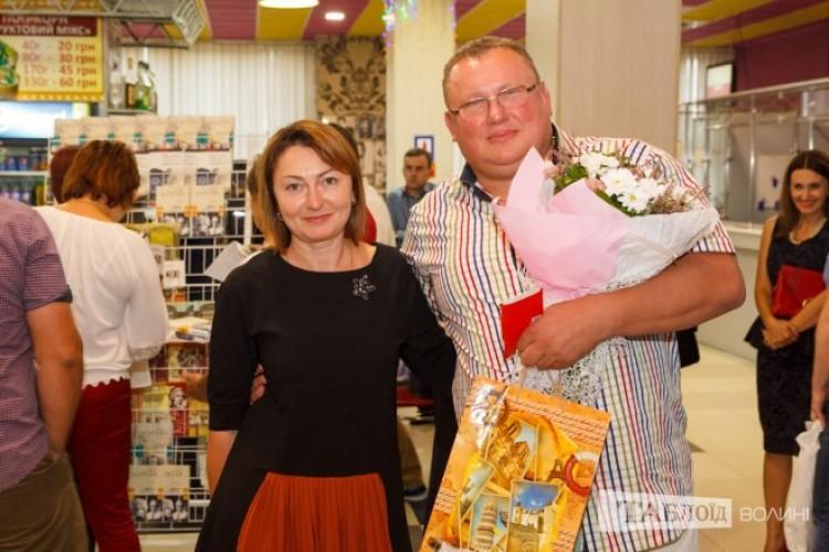Леся та Віктор Корсаки святкували «срібне весілля».