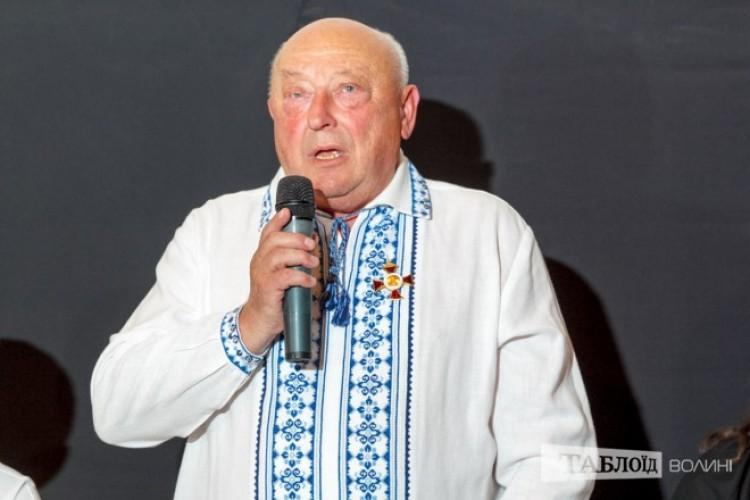 Іван Феодосійович з вдячним словом.