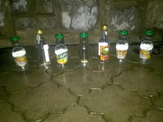 Вилучений на «Північному» алкоголь