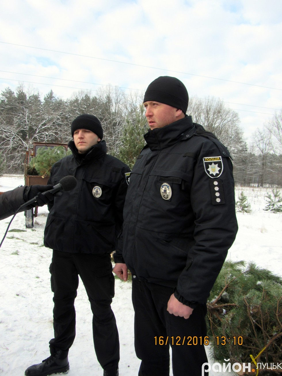 Лісова охорона разом із патрульною поліцією ківерцівського відділу поліції