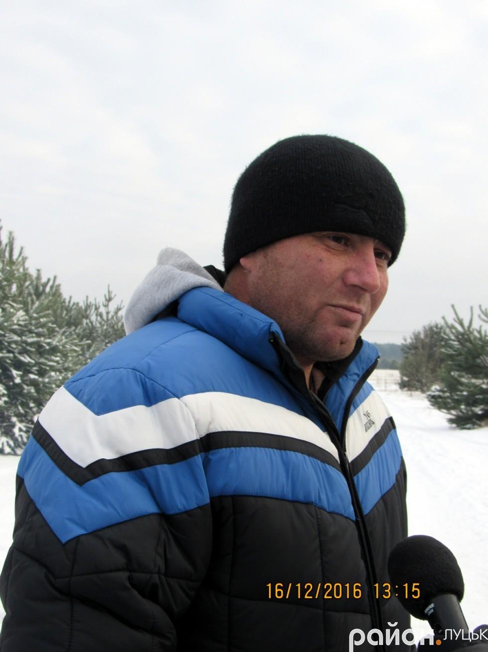 Віктор Левун, заступник голови спілки ветеранів АТО