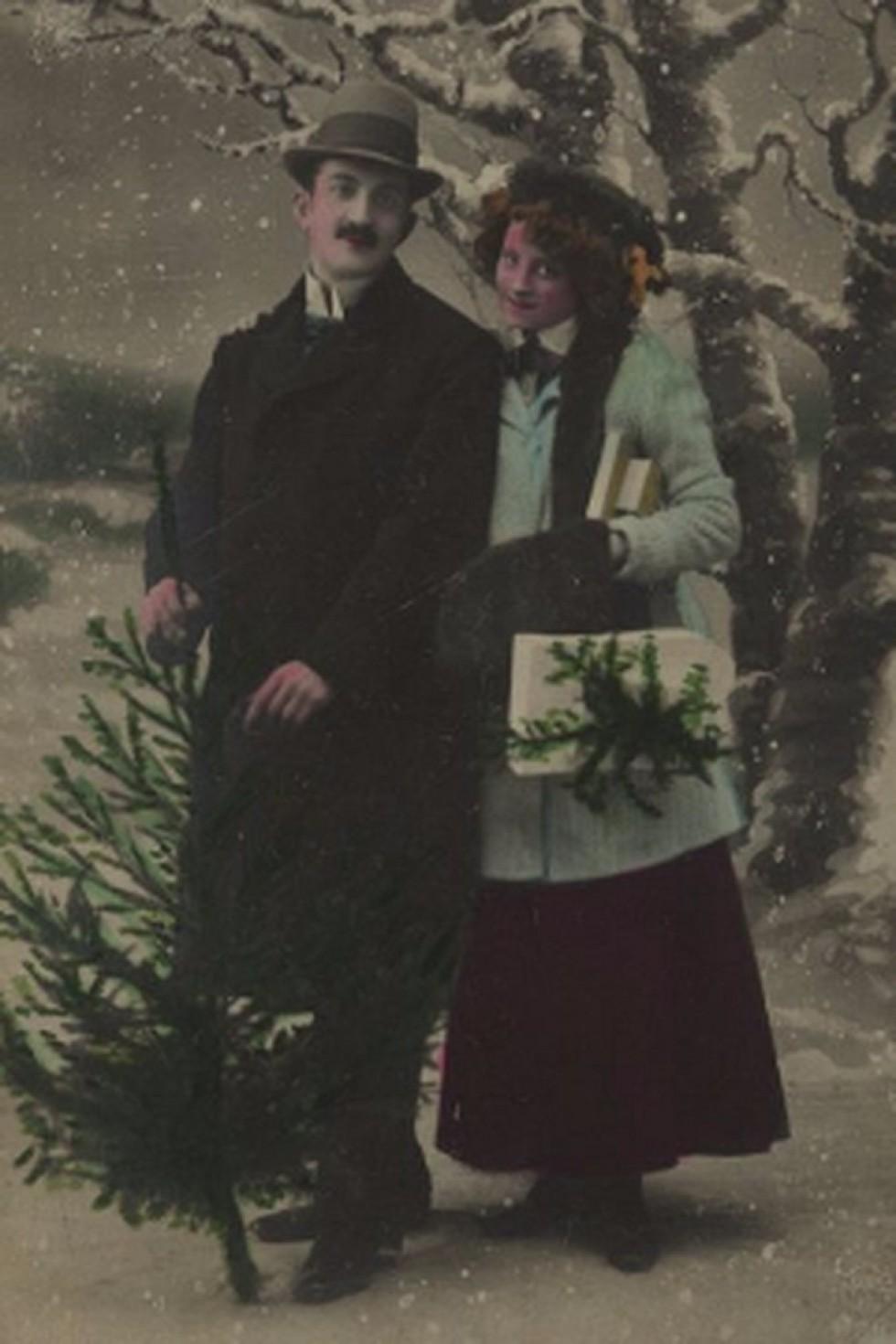 Якими листівками колись вітали лучани один одного з Різдвом, фото-4