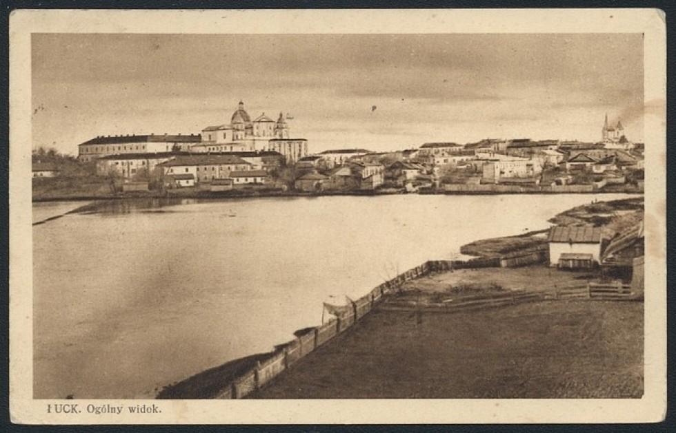 А ось поштівка, що її на Різдво, 25 грудня 1931 року, надіслали із Луцька.