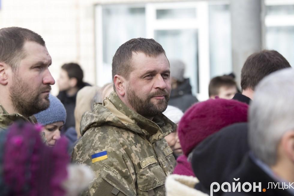Депутат Луцькради Олександр Кравченко
