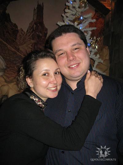 Костянтин Петрочук з дружиною