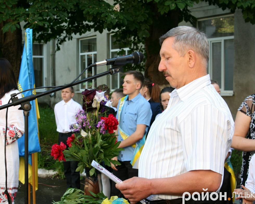 Начальник відділу екології Анатолій Гламазда