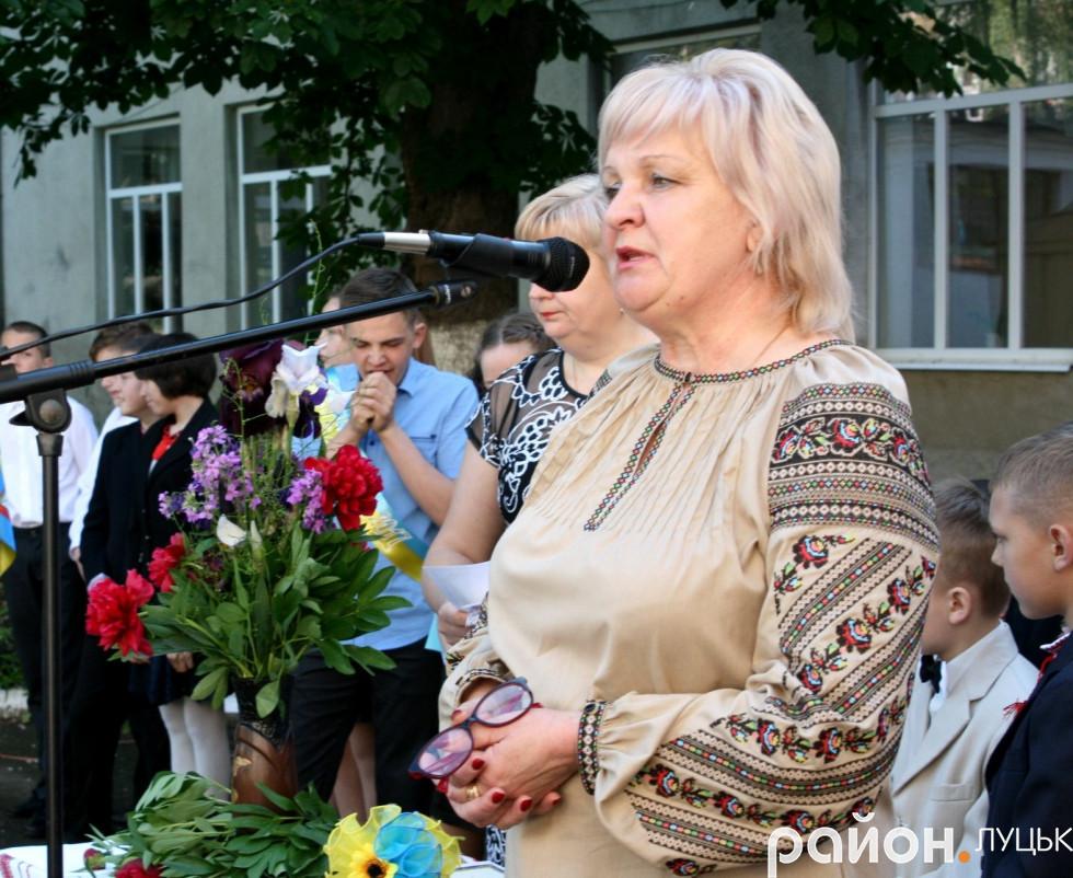 Директор навчально-реабілітаційного центру Леся Волинець