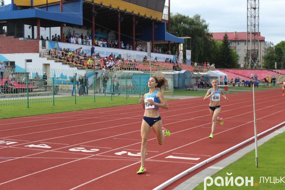 Одна з головних несподіванок чемпіонату: Ольга Ляхова з Полтавщини була швидшою за чемпіонку Європи Наталю Прищепу