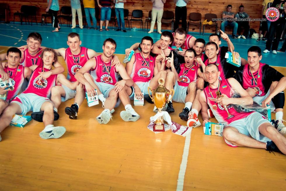 Той самий чемпіонський склад «Волиньбаскета» 2012-го року