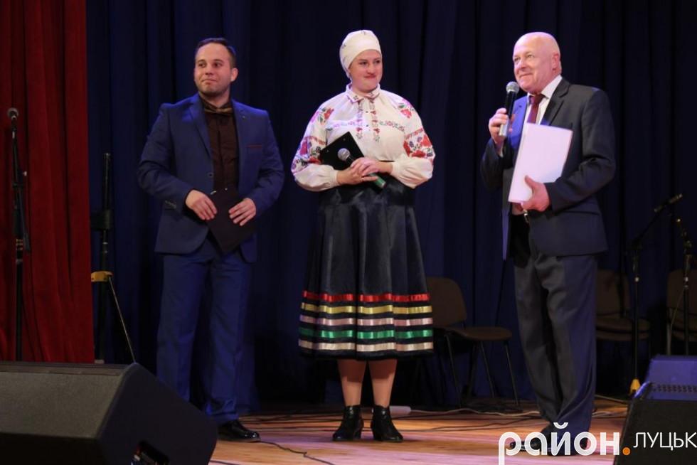 Учасників концерту нагородили пам'ятними відзнаками