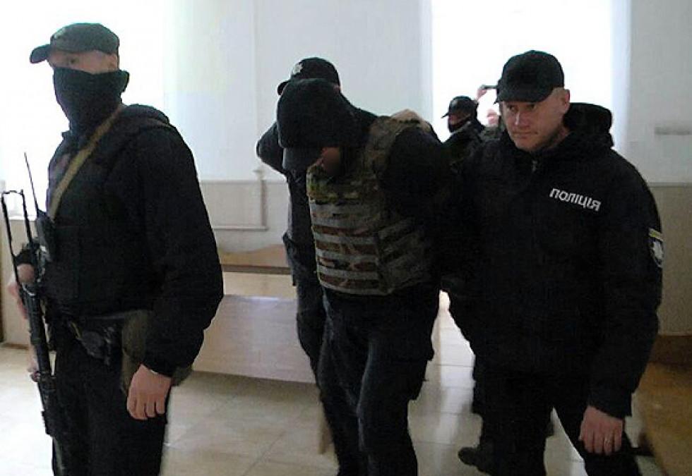 Суд заарештував трьох підозрюваних