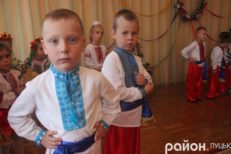 Вихованців луцького садочку посвятили в козаки