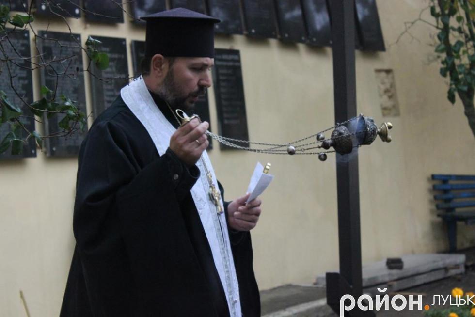 Молилися луцькі священики УПЦ КП