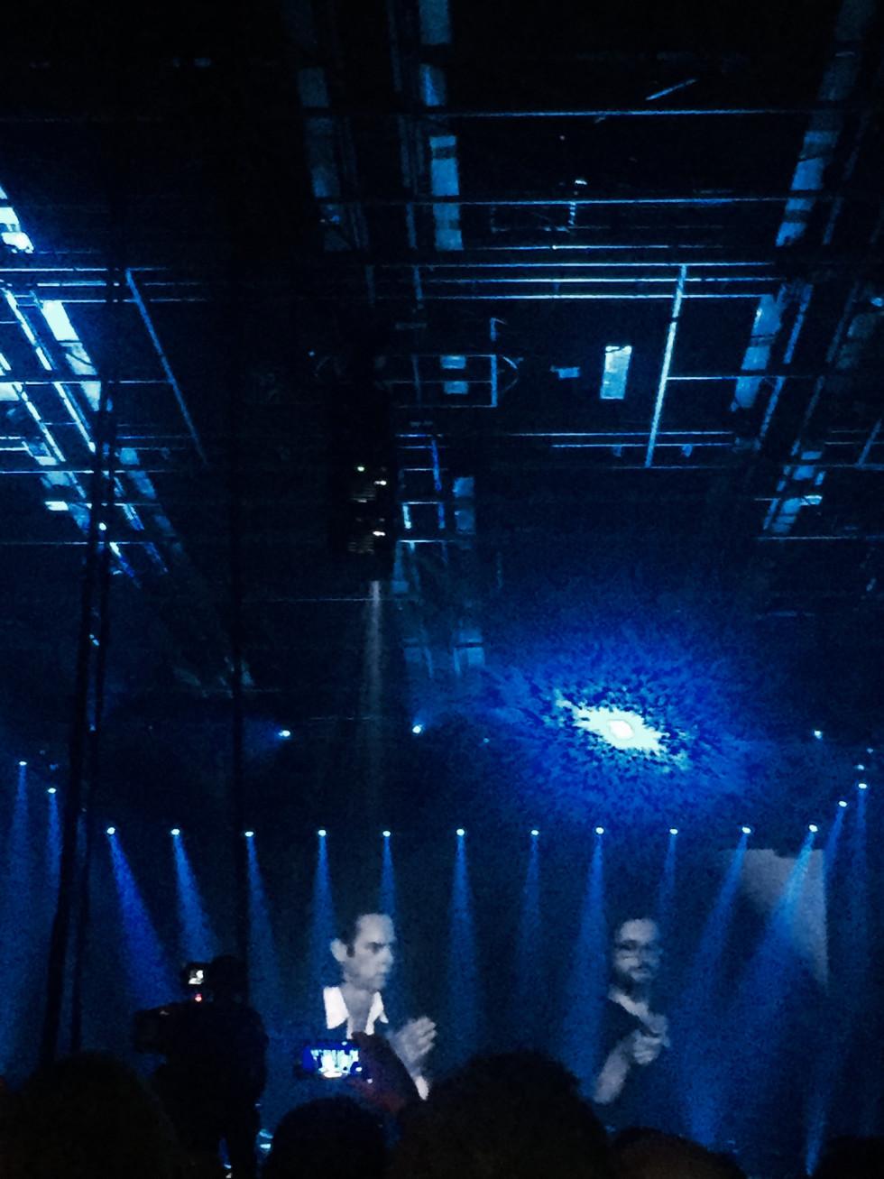 Під час концерту концерту  Ніка Кейва