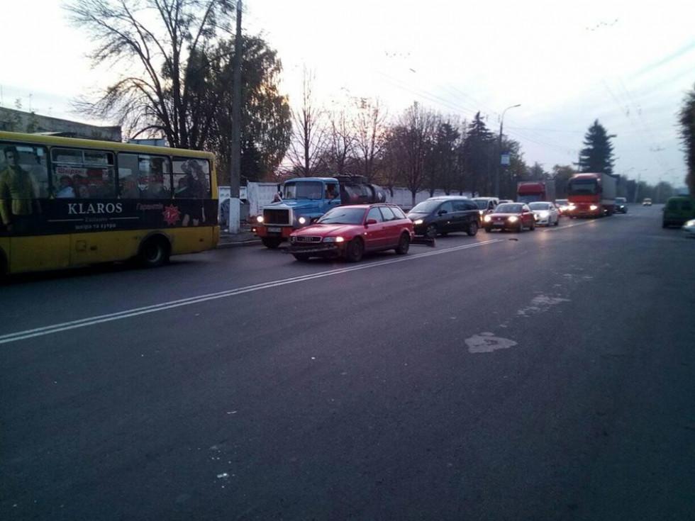 ДТП на вулиці Ковельській