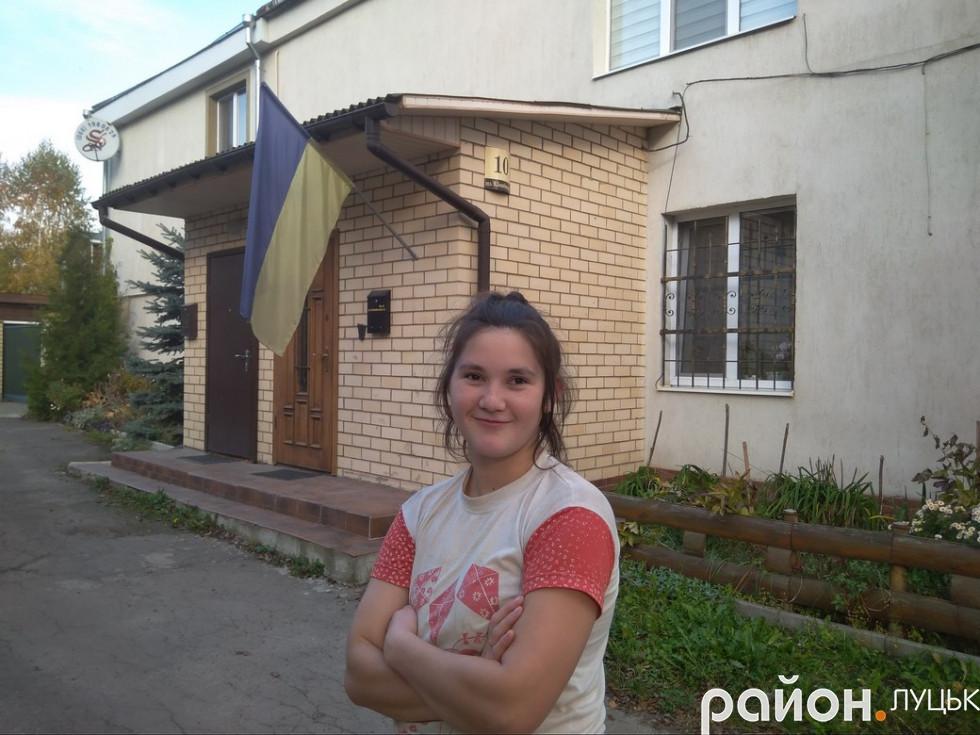 Мешканка будинку № 12 Катерина