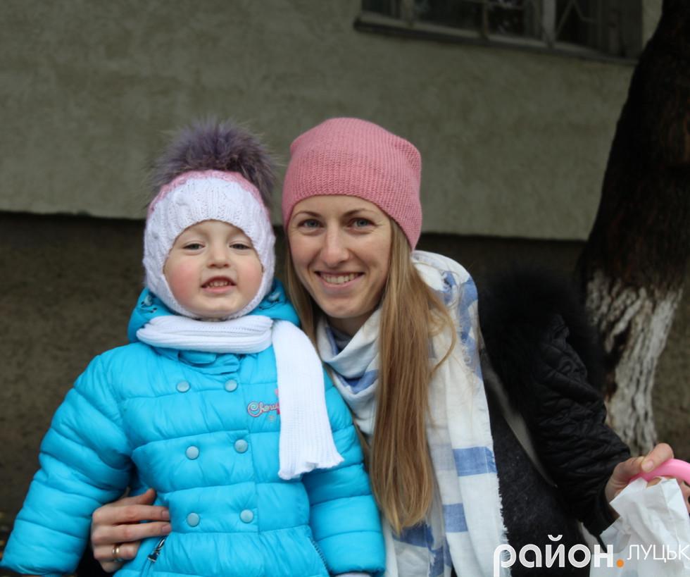 Руслана зі своєю донькою