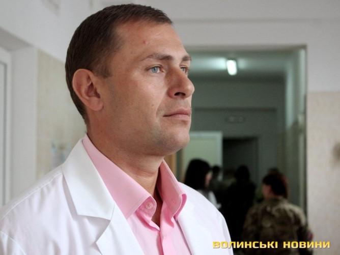 Головний лікар Волинської інфекційної лікарні Петро Гайдучик