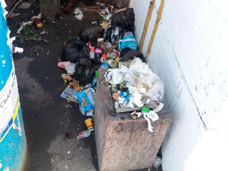 Нагромадження сміття