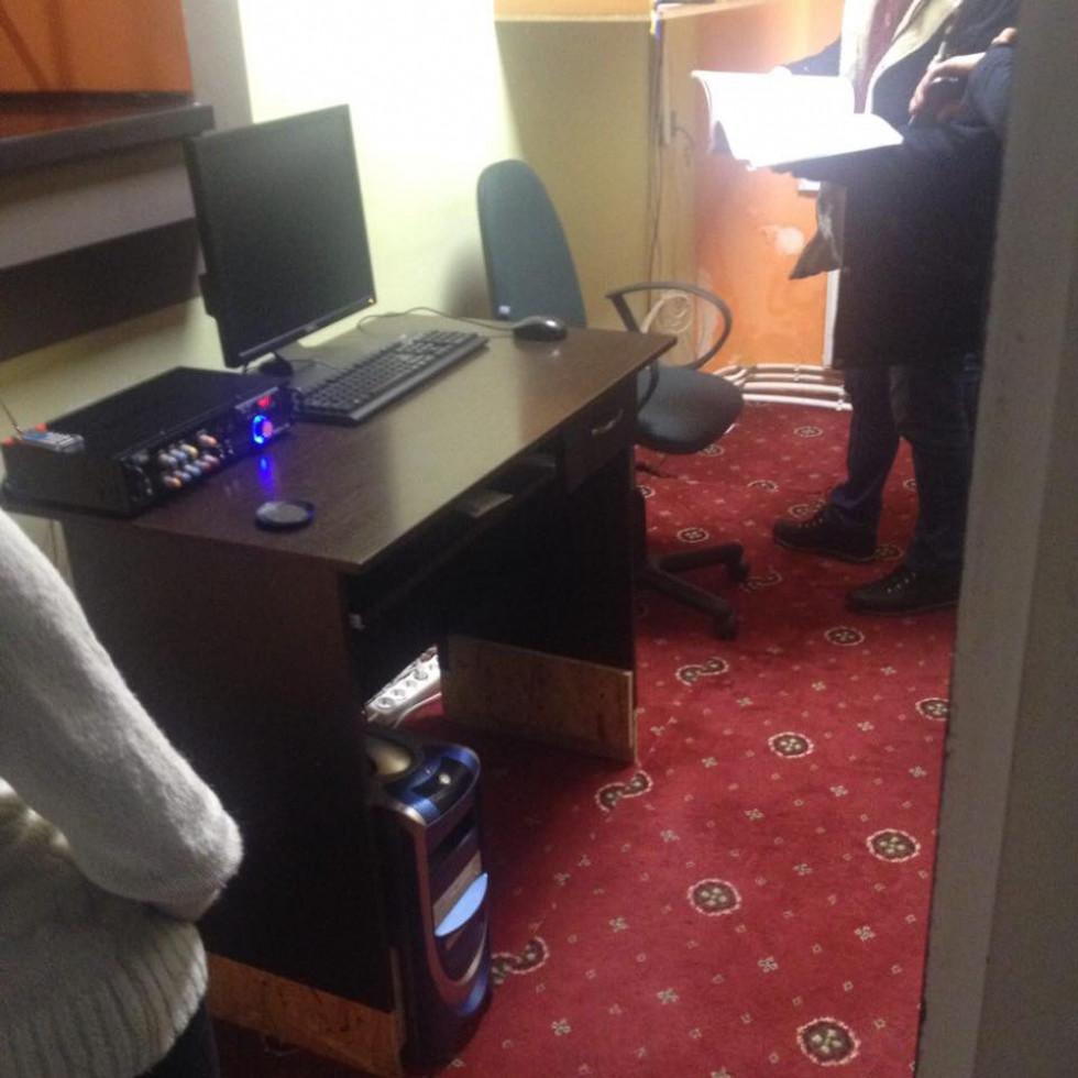 На технічних засобах відвідувачі грали в азартні ігри